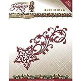 Find It Trading add10067Amy diseño de felicitación de Navidad Troqueles, Multicolor