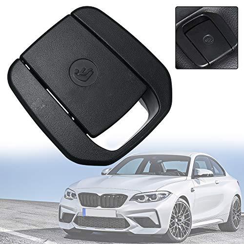 housesweet auto hinten kindersitz sicherheitsanker isofix abdeckklappe für bmw 1 3 serie e90 f30 schwarz