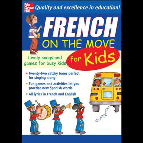 French on the Move for Kids  audiobook cover art