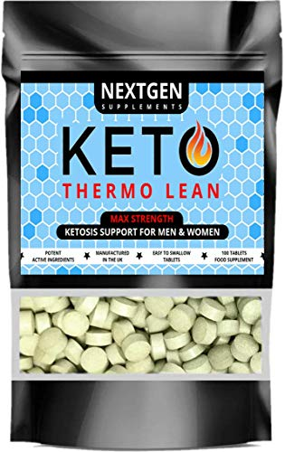 Keto Thermo Lean Diet Pills MCT Advanced Fat Burners Weight Loss Pure Ketosis | 100 Tablets