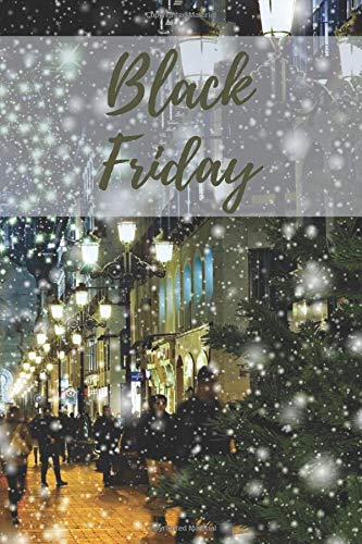 Notebook: Black Friday: Plan your purchases and save money during this amazing sales | Amazon discount, flash sale | Black Friday sale, promotion | ... planner daily, planner for women, chick lit