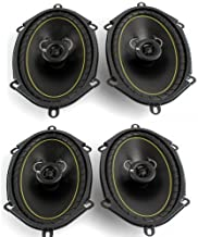 KICKER 2 Pairs DS68 6x8 2-Way Coaxial Car Audio Speakers 280 Watts Total 11DS68 photo