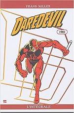 Daredevil intégrale t.1 1981 de Frank Miller