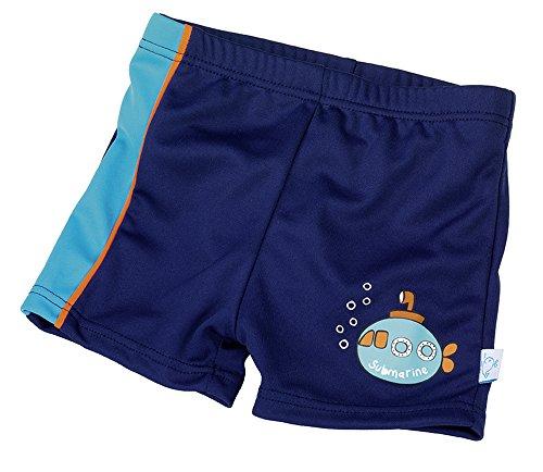 Fashy Short de Bain pour bébé, 15540 54, Bleu, 62/68