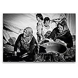 Premium Textil-Leinwand 120 x 80 cm Quer-Format Syrische