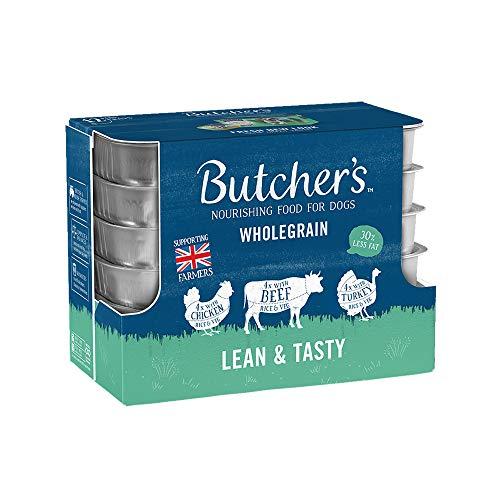 Butchers Tray Lean & Tasty Chicken, Beef & Turkey Dog Food (24 x 150g) (May Vary)