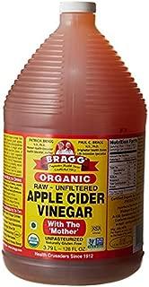 Bragg Organic Raw Apple Cider Vinegar, 128 Ounce