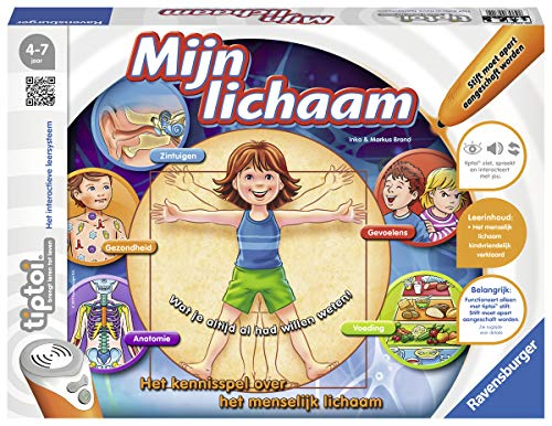 Ravensburger 007110 Spel Tiptoi: Mijn Lichaam, 48-84 mnd