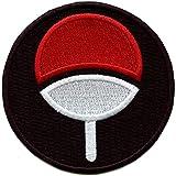 Anime Uchiha Clan Round Logo Iron On Patch
