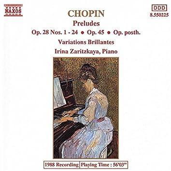 Chopin, F.: Complete Preludes / Variations Brillantes