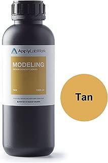 ApplyLabWork 3D Resin for Laser Printers, Formlabs Printers Compatible, Modeling Tan, 1 Liter