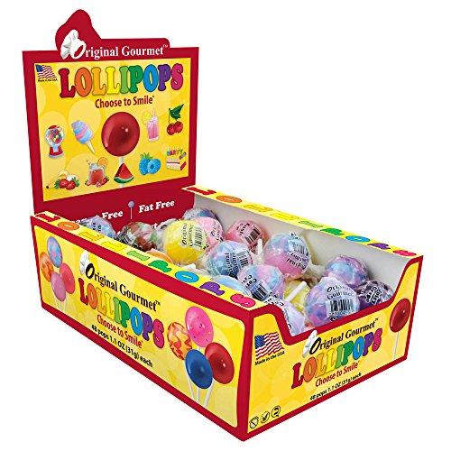 Original Gourmet Lollipops Counter Display 31 Gram