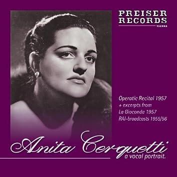 Anita Cerquetti - A vocal Portrait