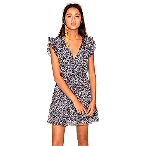 Pepe Jeans Robe, Multicolor (Multi 0AA), Large para Mujer