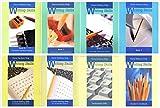 Writing Skills Complete Books Set (8 Books) - Book A (Grades 2-4), Book 1 (Grades 5-6), Book 2, Book 3 and Teacher's Handbook, Cursive Writing Skills (Right-Handed Students), Cursive Writing Skills (L