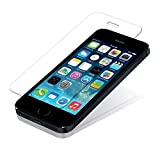 Teflon APPLE IPHONE 5S 5G 5 HD+ 9H Hardness Toughened Tempered Glass Screen Protector