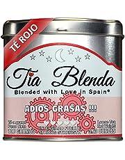 TIA BLENDA - TÉ ROJO PU-ERH (100 g) - Mezcla Exclusiva de Pu-erh Imperial Premium, JENGIBRE y CANELA. Té en hojas. 40 - 50 tazas. Presentación premium en lata. Loose Tea Caddy.
