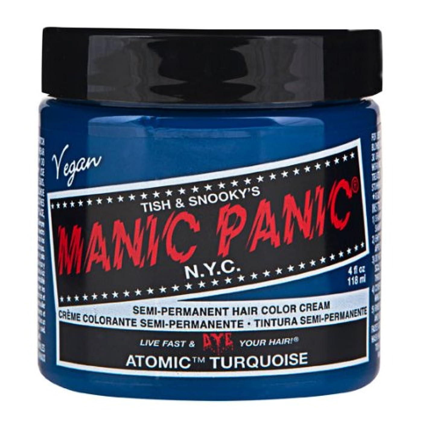 不毛の任意入手しますスペシャルセットMANIC PANICマニックパニック:Atomic Turquoise (アトミック ターコイズ)+ヘアカラーケア4点セット