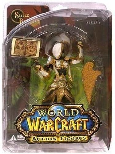 alta calidad World of of of Warcraft Series 3 Human Priestess Action Figure by DC Comics  el precio más bajo