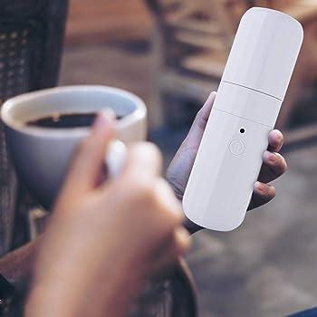 GOTOTOP Mini máquina de espresso, portátil, manual, USB, cafetera ...
