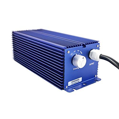 Growvital 600W NDL Lampe Vorschaltgerät elektronisch, 4-Stufen dimmbar, electronic ballast, EVSG, EVG, Pflanzenlicht, inkl. 4,5 m Stromkabel, NDL/HPS & MH