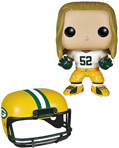 Funko POP NFL: Wave 1 - Clay Matthews Action Figures,Multi-colored,3.75 inches