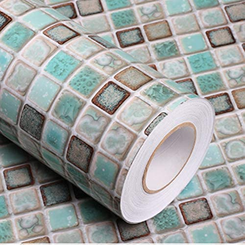 Vinyl wallpaper bathroom _image0