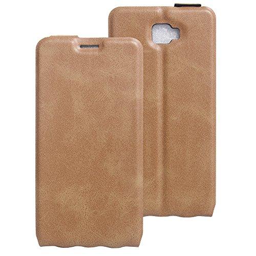Litao-Case CN Hülle für Archos 55 Cobalt Plus hülle Flip Leder + TPU Silikon Fixierh Schutzhülle Case 6