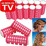 Pack of 18 Heated Rollers - 24mm - Simple and Effective