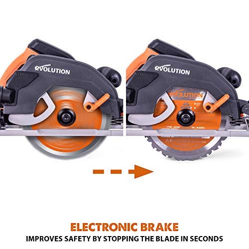 Evolution - 027-0004C Power Tools R185CCSX 7-1/4