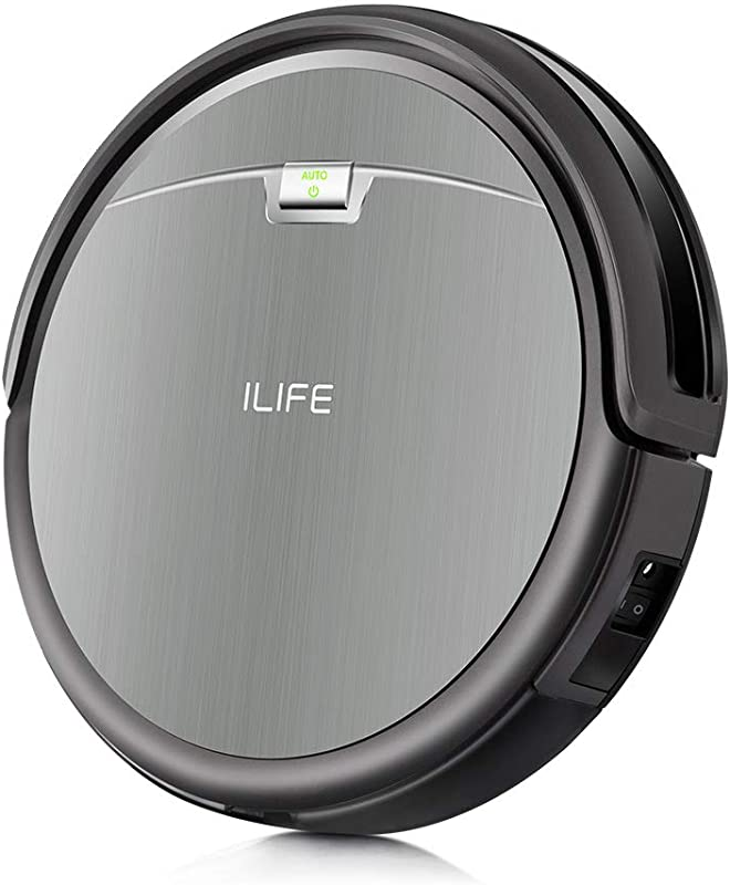 ILIFE A4s Robot Vacuum Cleaner With Max Power Suction Up To 140mins Run Time For Hard Floors And Thin Carpets