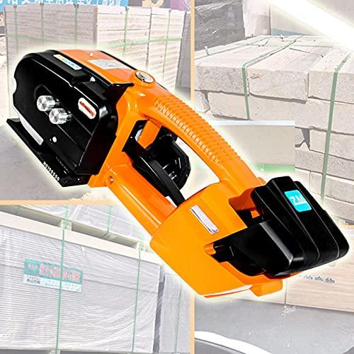 YNITJH Flejado De Soldadora Automática Empacadora Eléctrica Portátil,Máquina Flejadora De Acero Termofusible,con...