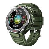 New Men's Sports Fitness Smart Watch S25 Bluetooth Call Music Play Monitor De Ritmo Cardíaco Monitor RECORDATORIO RECORDATORIO IP67 Smartwatch Al Aire Libre Señoras Reloj Android iOS,B