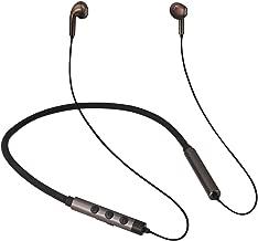 MobiFren Flex-L Wireless Bluetooth Earbuds High Definition LDAC/Apt-X Premium Sound, Shape-Memory Alloy Wire, Magnetic Earbuds, Vibration-Alert Enabled Earphones for Sports, Sweat-Proof (Flex-L Air)