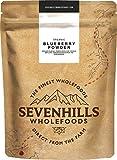 Sevenhills Wholefoods Organic Blueberry Powder, Raw Freeze-Dried, 100g