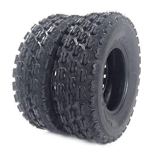 Set of 2 19x7-8 All Terrain ATV UTV Tire 19x7x8 Tubeless Sport Tires 4 PR P327