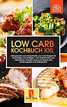 Book cover image for Low Carb Kochbuch XXL