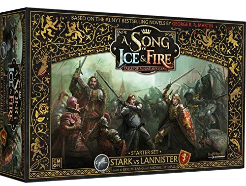 Asmodee Italia, A song of ice and fire, Gioco di miniature, 10400