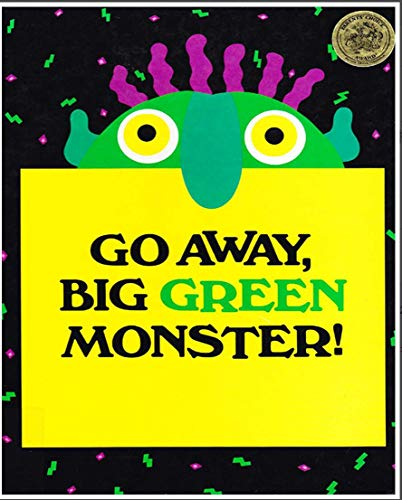 Go Away Big Green Monster: Recommended for classic children's picture books (English Edition)