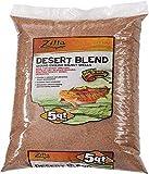 Zilla Reptile Terrarium Bedding Substrate Desert Blend Walnut, 5-Qt.