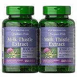 Best Milk Thistles - Puritan's Pride Milk Thistle Extract 1000 Mg Silymarin Review