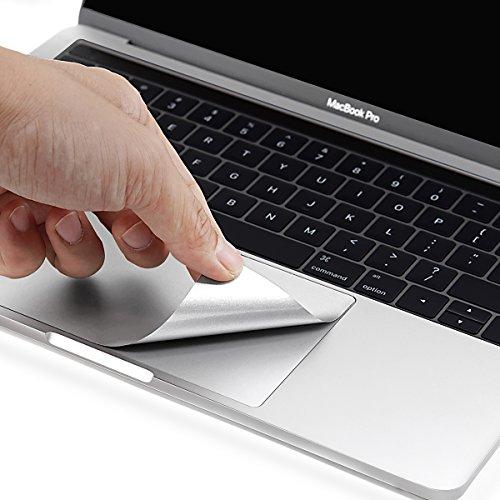 『NEW 13インチMacBook Pro 2016-2019 トラックパッド保護フィルム 内側保護シール (シルバー)』の1枚目の画像