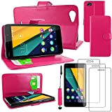 ebestStar - compatible with Wiko Pulp Fab 4G Case Wallet