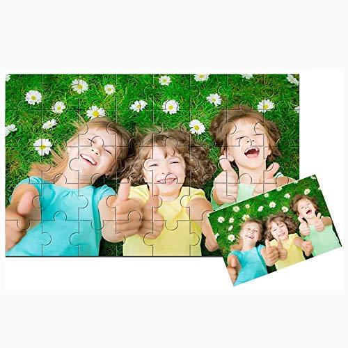 Puzzle Personalizado con Foto Rompecabezas De Madera Personalizable con Tu Propia Imagen,Regalo para Madres/Parejas/Novios   Diseño Desde Cualquier Imagen Puzzles