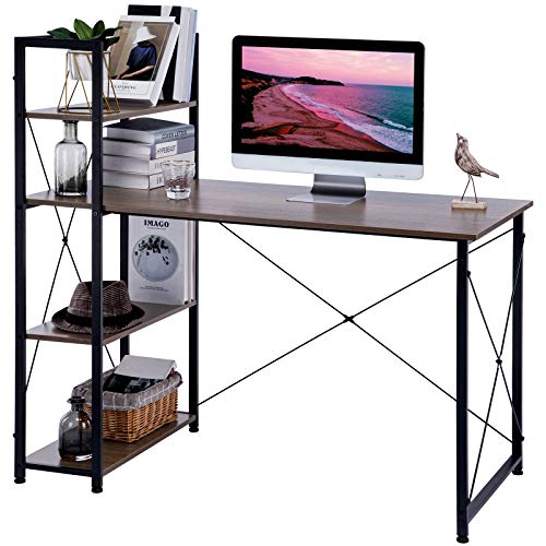 ad: $49.69 (65% off)    47-inch Computer Desk with Shelves  use code UL2TGQ76 at checkout  …