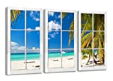 Visario Leinwandbilder 1164 Bild auf Leinwand Fenster mit