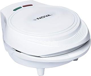 Nova 800-1000 Watts 7 Piece Doughnut Maker, White - NT185DMT