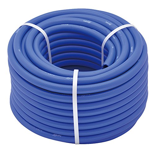 TAKAGI teiji Premium Tuyau d'arrosage, Bleu, 30 m, 30 x 30 x 16 cm