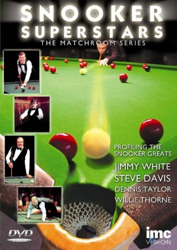 Snooker Superstars - The Matchroom Series - Vol 1 Featuring Jimmy White, Steve Davis, Dennis Taylor & Willie Thorne [UK Import]
