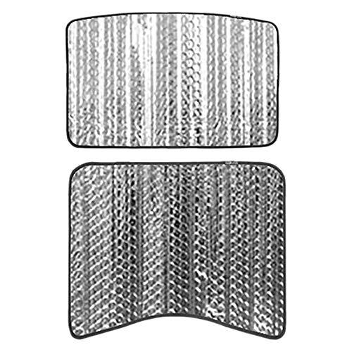 Vaorwne Autofenster Sonnenschirme Glasdachhaube Dach Sonnenschutz Schiebedach Heckscheiben-Sonnenschutz für Tesla Model 3
